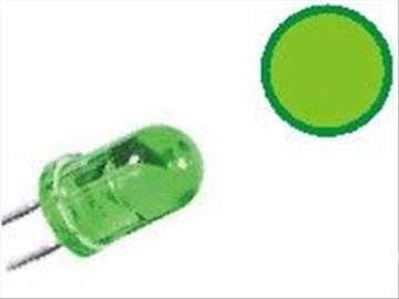 LED 5 blink green
