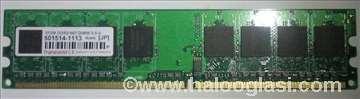 Transcend DDR 2, 512MB, DIMM 5-5-5