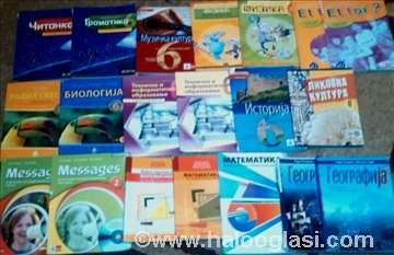 5, 6, 7. i 8. razred - udžbenici, osnovna škola