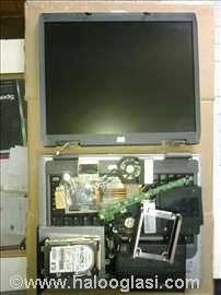 HP Compaq NX9010 laptop, delovi!
