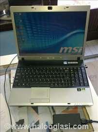MSI M670X(MS-1632) laptop, delovi!