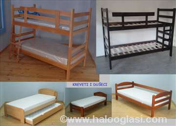 Kreveti i dušeci za dečje sobe