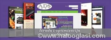 Optimizacija web sajtova - SEO  i izrada