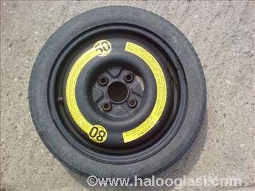 Felna rezervni točak za VW 110/70 R14 raspon 4x100