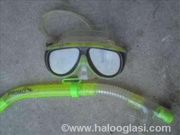 Ronilačka maska sa disaljkom
