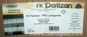 Partizan- Ludogorets 06. 08. 2013.