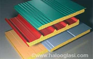 Sendvič paneli-ispuna poliuretan i mineralne vune