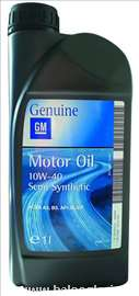 Proizvođač: GM  Polusinteticko  Motor oil