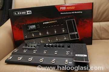 Line 6 HD 500-gitarski procesor