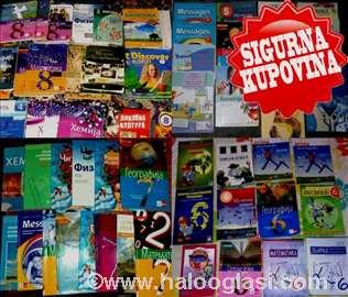 5, 6, 7, 8. razred-Odlično očuvani udžbenici