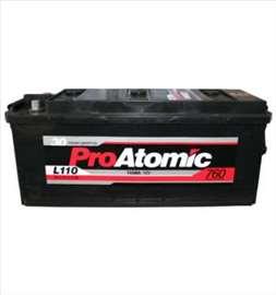 Akumulatori: Pro Atomic 110 Ah L+