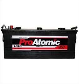 Akumulatori: Pro Atomic 140 Ah L+