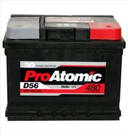 Akumulatori: Pro Atomic 56 Ah D+