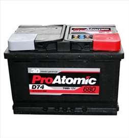 Akumulatori: Pro Atomic 74 Ah D+