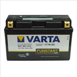 Akumulatori: Varta YT 7B-BS 7Ah