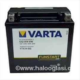 Akumulatori: Varta YTX 14-BSU 12Ah