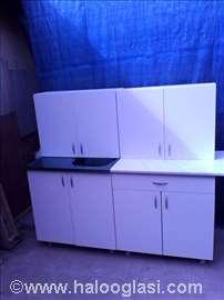 Kuhinja 1.6m u beloj boji no7va