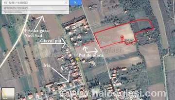 Prodaje se gradjevinsko zemljište u Irigu