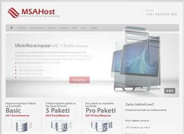 Izrada sajtova - hosting - prodaja domena