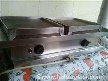 Električni roštilj sa dve ploče
