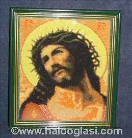 Slika Isus u kruni od trnja