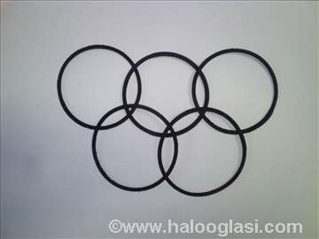 Gumice prstenaste.100 komada