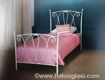 Metalni krevet Flamenko 90x200