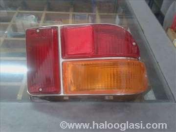 Stop lampa 101, Skala