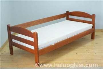 Krevet Lučna Sofa trešnja