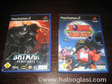 2 igrice za PlayStation 2
