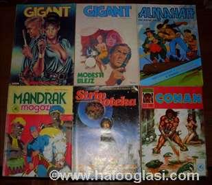 Stripovi razno, stara izdanja
