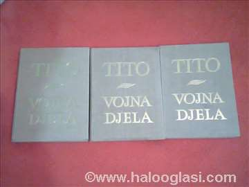 Tito- Vojna djela od 41-1961g. 3k. HITNO