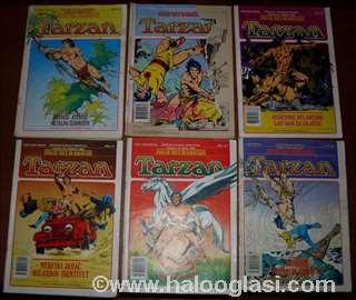 Tarzan, stari stripovi