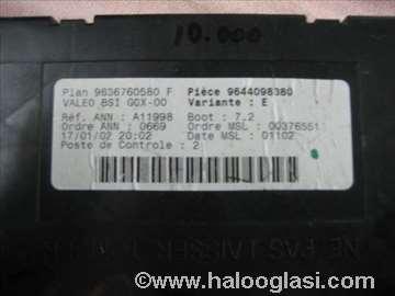 BSI Peugeot 307 2.0 hdi 9636760580F