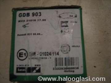 Disk plocice renault gdb903