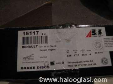 Diskovi 15171 abs Dachia,Renault