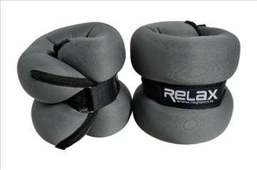 Tegovi sa čičkom od 2x2kg RX AW 2201 Ring sport