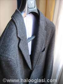 Massimo Dutti sako L velicina  vuna nov original