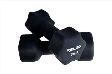 Bučice za aerobik 2x3kg RX DB2133-3