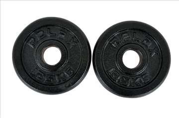 Tegovi 2x1.25kg crni standardni liveniRX PL01-1.25