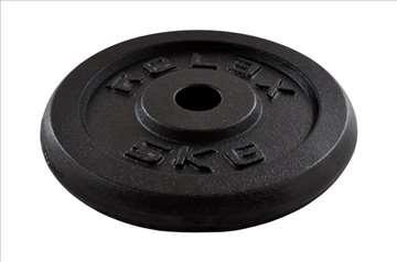 Tegovi 2x5kg crni standardni liveni RX PL01-5