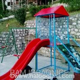 Spoljašnje igraonice i dečija igrališta