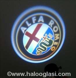 ALFA ROMEO logo u vratima