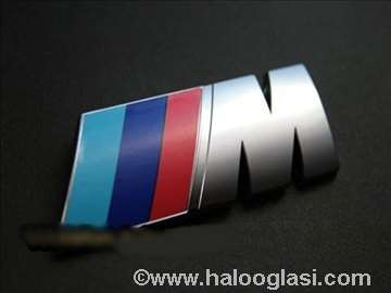 BMW M znak metalni originalni