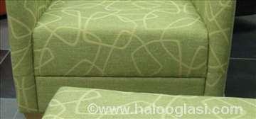 Fotelja Ema Lux 2 + tabure