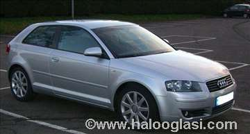 HAUBA Audi A3 crna i siva boja originaln