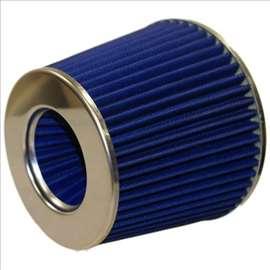 K N filteri za vazduh plavi