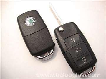 Kljuc SKODA kuciste kljuca model 1