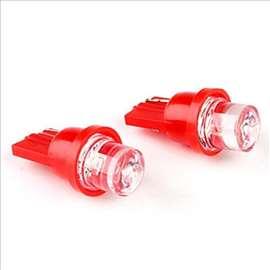 LED sijalice T10 crvene 2 komada
