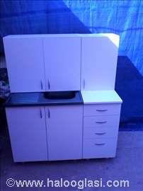 Kuhinja 1.2m u beloj boji